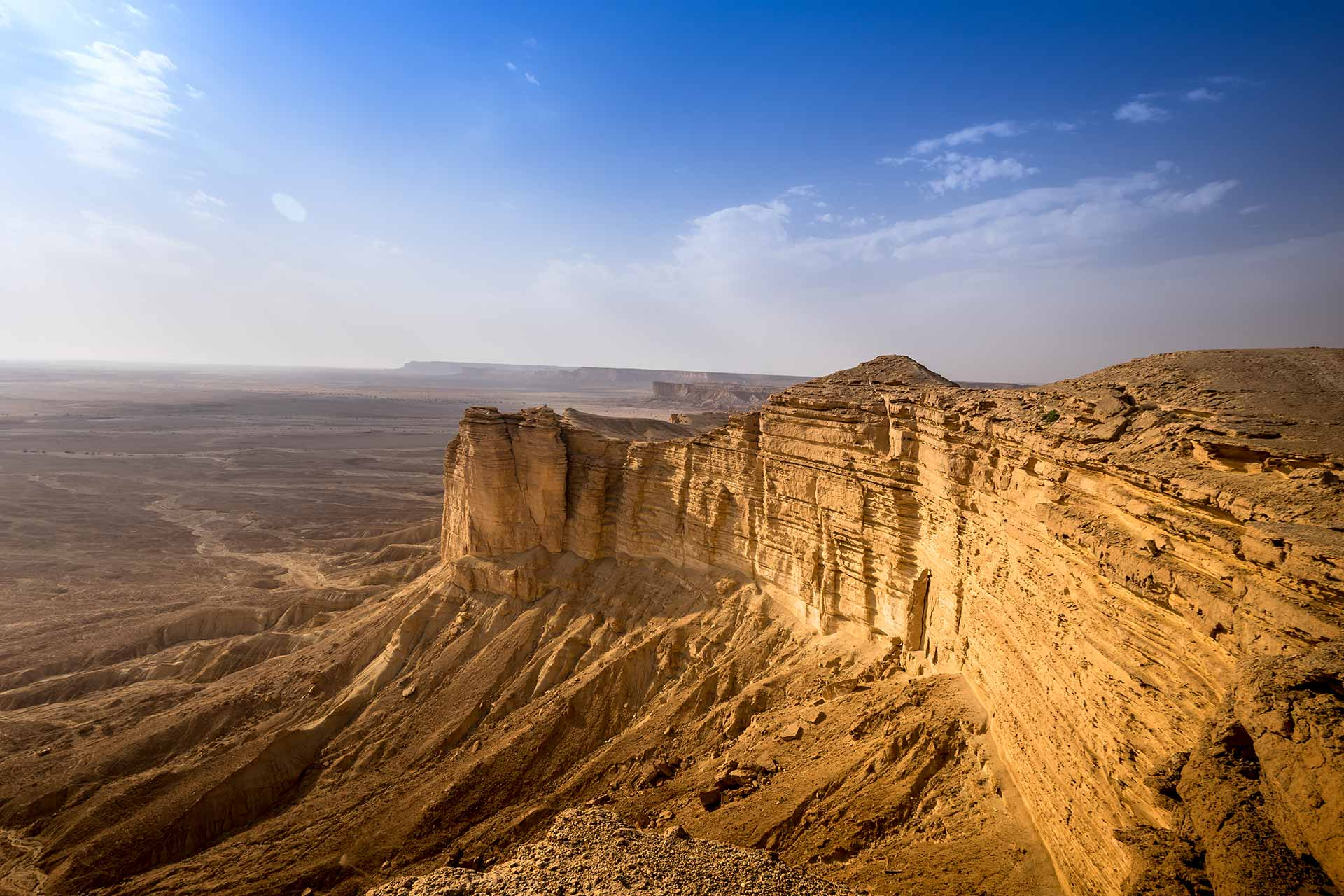 Standing on the Edge of the World - Visit Saudi Official Website
